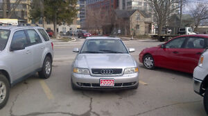 2000 Audi A4 QUATTRO Sedan...GREAT VEHICLE ..WINTER FIGHTER