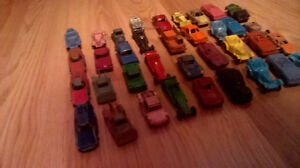 VINTAGE LOT OF 36 TOOTSIE TOY VEHICLE TOY CARS London Ontario image 2