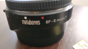 Metabones IV Sony E mount to Canon EF smart adapter