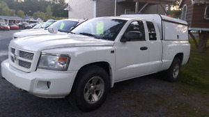 2009 Dodge Dakota 4x4 with Work Cap