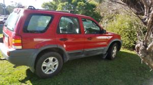 Ford escape 4x4 2003