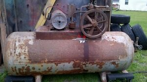 Air compressor and welder