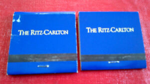 Matchbook Covers-The Ritz-Carlton Kitchener / Waterloo Kitchener Area image 2