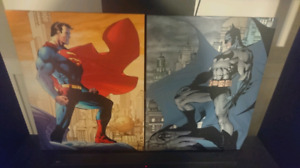 Marvel/DC Canvas pictures