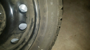 Artic Claw Winter Tires and Rims 205/55/16