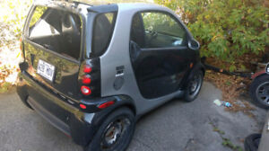 2006 smart Fortwo diesel --for road or for parts-- route pieces