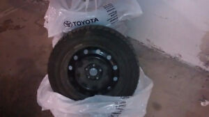 """4 Good Years Winter Tires (205/55R 16 ) for sell total $239"""