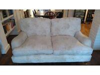 Cream Laura Ashley sofa