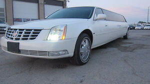 """2008 Cadillac DTS Limousine 130"""" stretch by Tiffany"""