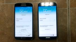 2 x Samsung Galaxy S4