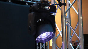GLOW Phantom LED Wash Moving Head 19x12W RGBW
