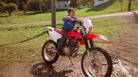 want to trade for a truck 4x4.crf230f 2013...