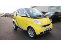 2008 57 SMART FORTWO 1.0 PASSION 2D AUTO 70 BHP