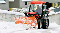 Snow Plowing Commercial large & small