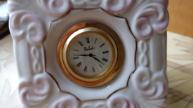 Belleek clock