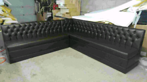 Custom Made Tuffted Resturant Booths & Banquette