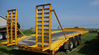 Float King, Equipment Trailer, Pintle Hitch