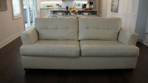 ASHLEY bonded leather sofa