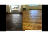 Sanding & polishing. Wood floor restoration. Free quotation