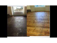 Sanding & polishing. Wood floor restoration. Free quotation