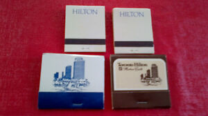 Matchbook Covers-Hilton Hotels Kitchener / Waterloo Kitchener Area image 2