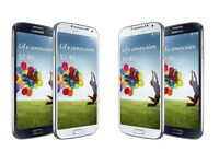 Samsung Galaxy S4 Available White and Black