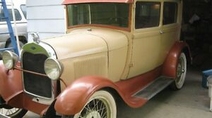 1929 FORD MODEL A - TWO DOOR SEDAN