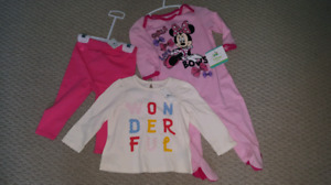 Infant girl clothing lot. Many new with tags. Size 0-3months to