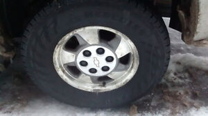 Truck winter tires 265/70/16