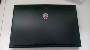 MSI GAMING LAPTOP still in good condition