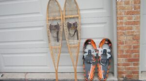 Snow Shoes: Traditional Wood and Modern Metal