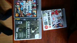 80gb Ps3 fof $80. Comes with 2 contr. 3 games