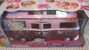 Steffi love camping van with doll never opened