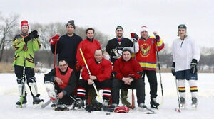 Looking for free ice hockey equipment to support amateur team :)