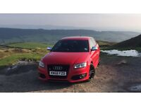 Facelift 2008 58 RED AUDI S3 Misano red HPI CLEAR LOW MILES RS4 C63 S5 M3