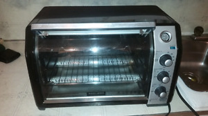 Large convection toaster oven $30