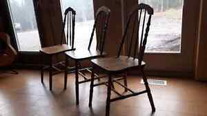 Antique chairs Prince George British Columbia image 3