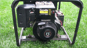 Homelite LRE 5500 watt electric start generator HUNTER'S SPECIAL