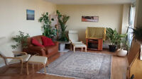 1400 SQ FT FURNISHED CONDO IN HEART OF OLD STRATHCONA