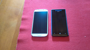 Samsung s4 and Windows HTC (reduced price)