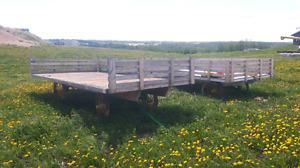 John Deere Hayes Wagons
