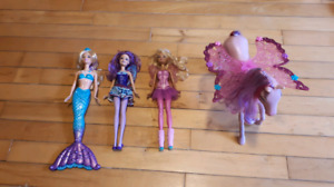 Barbies + Horse with wings