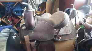 Several Western and English saddles for sale
