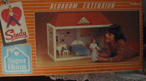 Sindy doll vintage bedroom extension for Super Home Pedigree Cornwall Ontario image 1