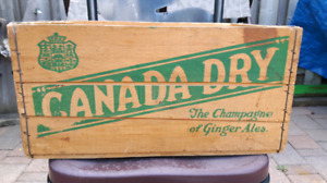 Antique Canada Dry Crate