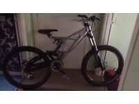 Downhill mountain bike coyote dh3r for sale