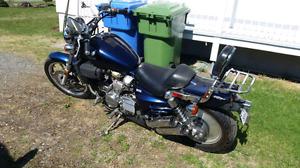 Moto Honda super magna 1987