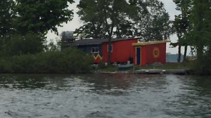 Single cottage on private island on the St.Lawrence river