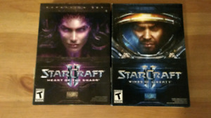 Starcraft Heart of the swarm & Wings of liberty