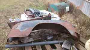 Bunch of old ford truck parts  London Ontario image 3